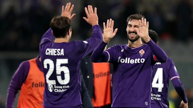 The Fiorentina forward wants to honour the memory of a former team-mate while away on international duty this month
