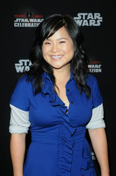 Kelly Marie Tran attends STAR WARS: THE LAST JEDI PANEL during the 2017 STAR WARS CELEBRATION at Orange County Convention Center on April 14, 2017 in Orlando, Florida