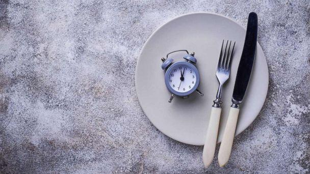 PHOTO: An alarm clock with silverware on a plate are pictured in this undated stock photo. (STOCK PHOTO/Shutterstock)