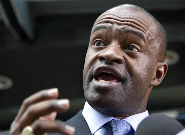 NFL players union chief DeMaurice Smith's term was extended by a vote on Tuesday. (AP)