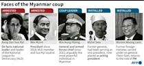 Face of the Myanmar coup