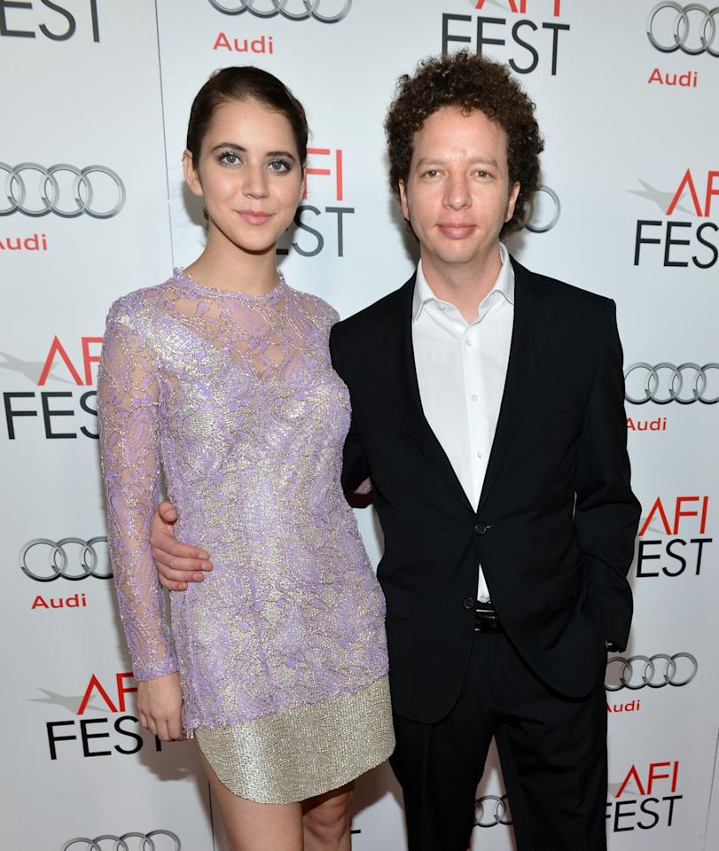 """HOLLYWOOD, CA - NOVEMBER 03:  Actress Tessa Ia and director Michel Franco arrive at the """"On The Road"""" premiere during the 2012 AFI Fest presented by Audi at Grauman's Chinese Theatre on November 3, 2012 in Hollywood, California.  (Photo by Alberto E. Rodriguez/Getty Images for AFI)"""