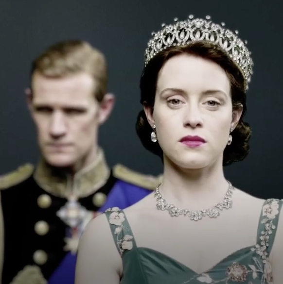 Hit show 'The Crown' has sparked renewed interest in the Queen's romance with the Prince - and questions over his fidelity. Photo: Instagram/thecrownnetflix