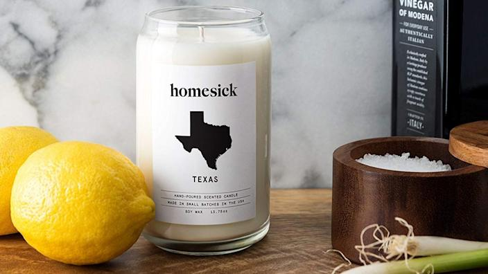 Best personalized gifts 2020: Homesick Candle