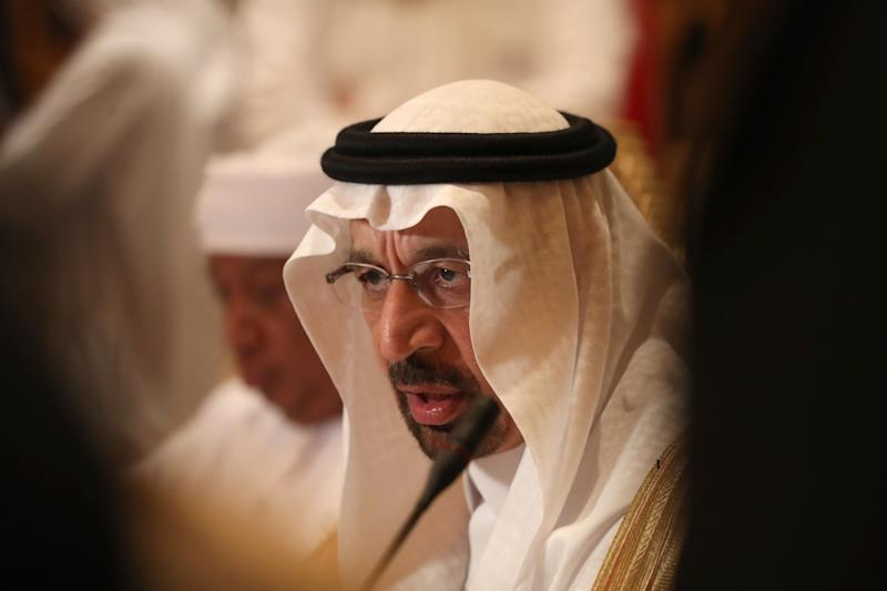 Saudi energy minister Khalid al Falih is looking to cut oil production to shore up sagging prices