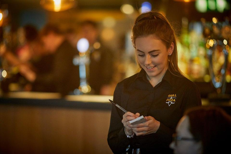 Pub group Marston's has reported improved sales (Marstons)