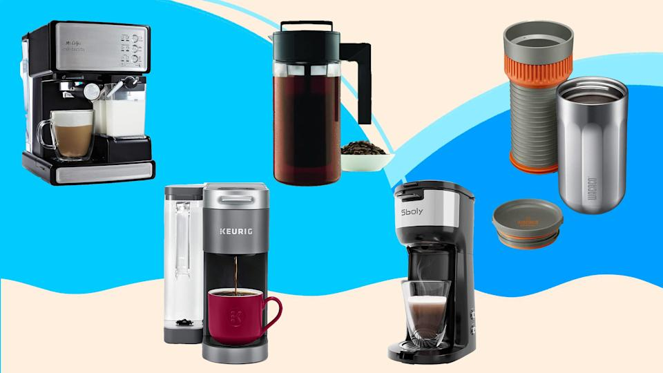 So many ways to make coffee, so many deals on coffee makers this Amazon Prime Day 2021.