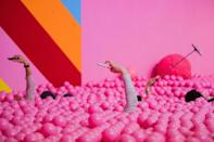 Museums and pop-up 'experiences' offer interactive installations for visitors to take selfies and post them on Instagram or other social media platforms