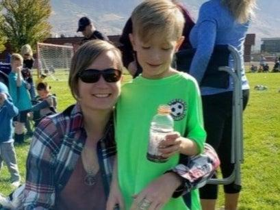 Emily Jolley (left) and son Terran Butler (right) ((Unified Police Department of Greater Salt Lake))