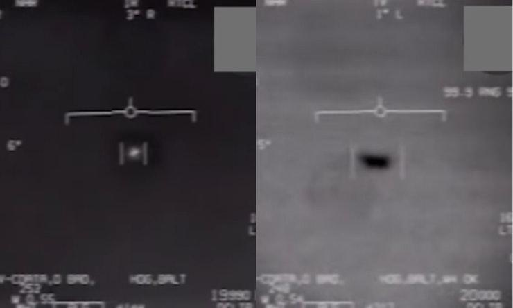 The Pentagon released this footage during the week. Photo: Youtube