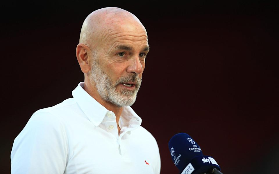 Milan coach Stefano Pioli before the UEFA Champions League group B match - Getty Images