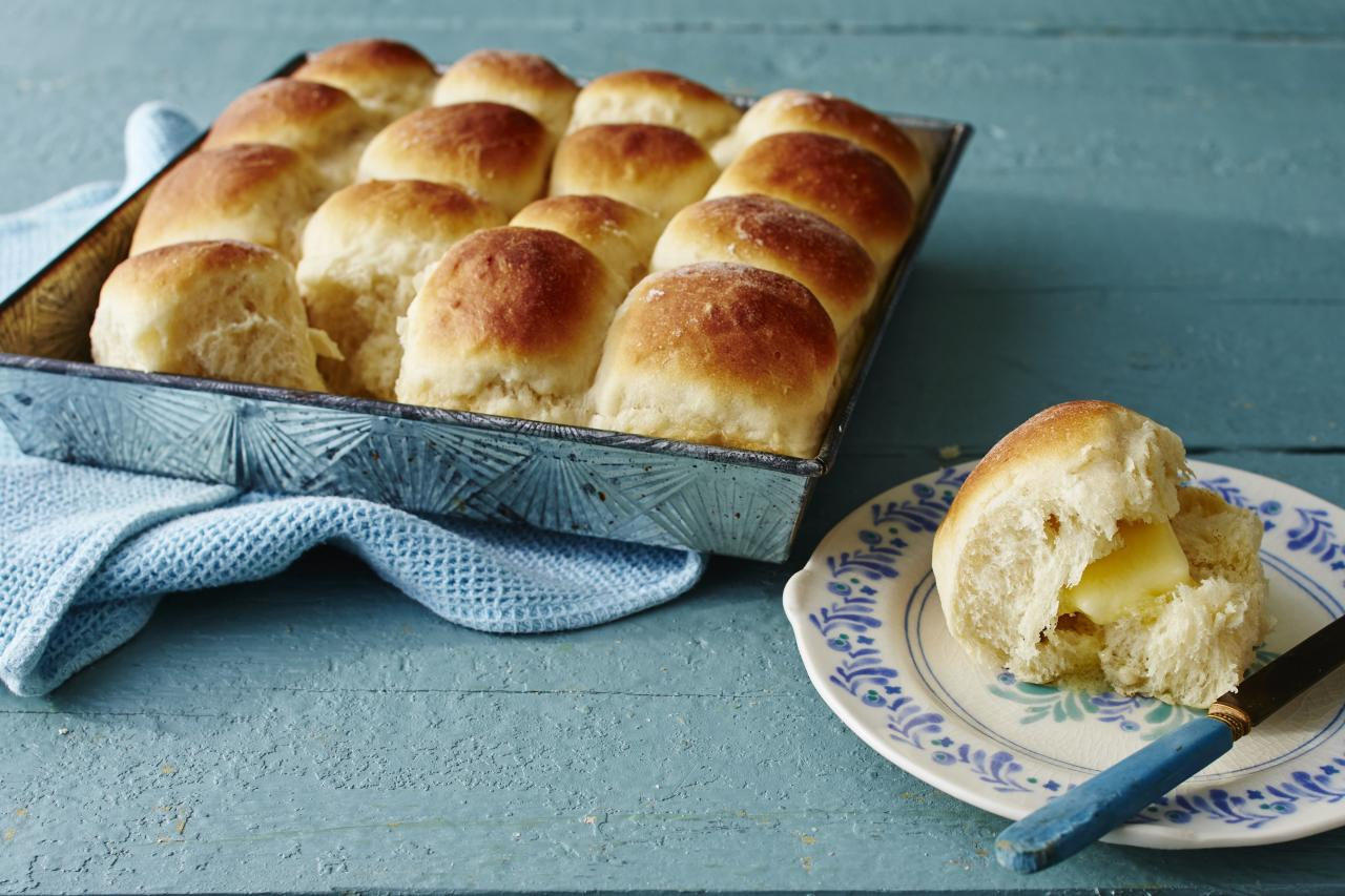 """<p><b>Recipe: </b><a href=""""https://www.southernliving.com/recipes/make-ahead-yeast-rolls-recipe""""><b>Make-Ahead Yeast Rolls</b></a></p> <p>Wonderfully easy, these make-ahead rolls can be set to go before the in-laws come into town. Like our <a href=""""https://www.southernliving.com/food/holidays-occasions/icebox-dinner-rolls"""">icebox dinner rolls</a>, these yeast rolls will always be a Thanksgiving staple in the South. The recipe first made its mark in our November 1995 issue.</p>"""