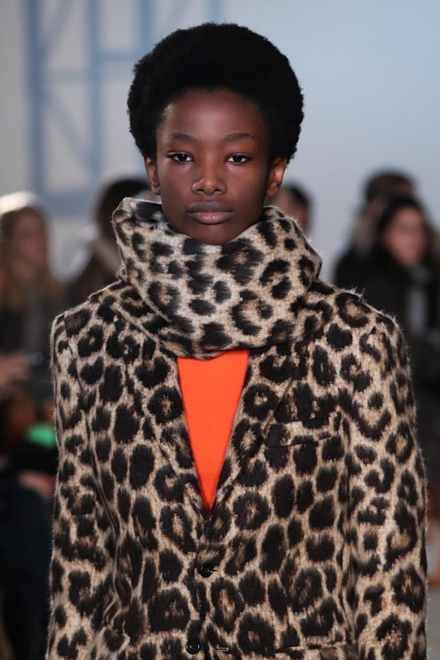 <p>Afros and animal print are the perfect combo. (Photo: Getty Images) </p>