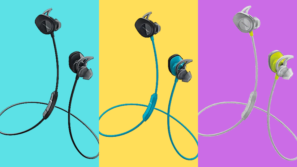 Save $ 31 and pump for your workout & # x002014;  In all kinds of fun colors!  (Photo: Bose)