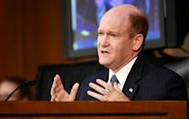 El senador Chris Coons en Washington el 15 de octobre de 2020