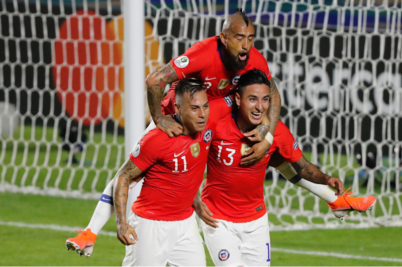 Copa America 2019: Vargas at the Double as Chile Rout Japan With 4-0 Win