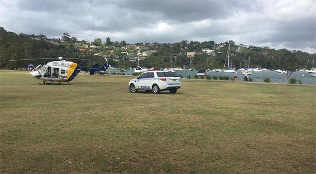The boy was airlifted to hospital. Source: CareFlight
