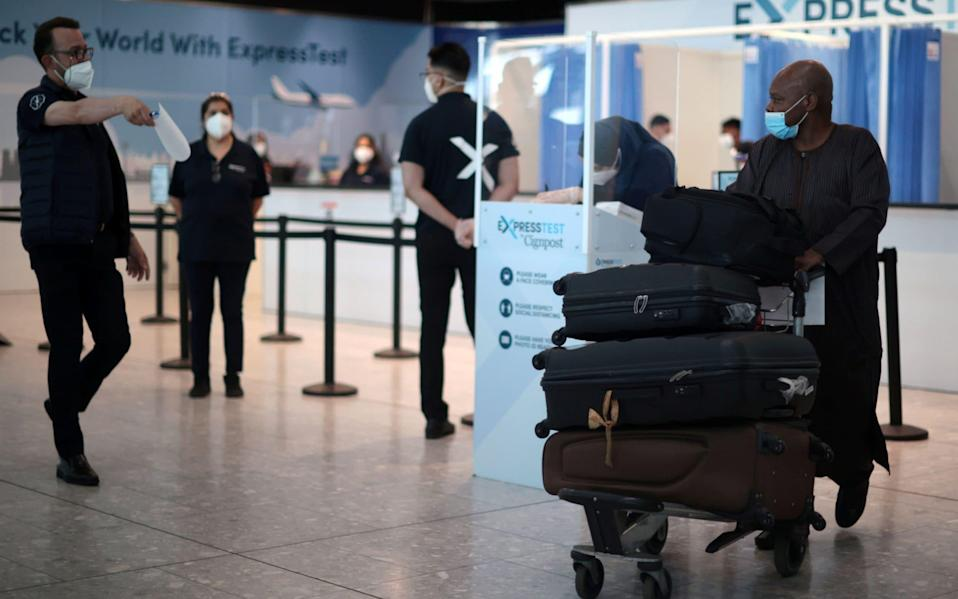 There are now no major holiday destinations left on the quarantine-free green list - Hannah McKay/Reuters