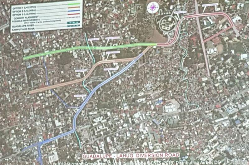 Diversion road between Guadalupe, Lahug to decongest escario traffic