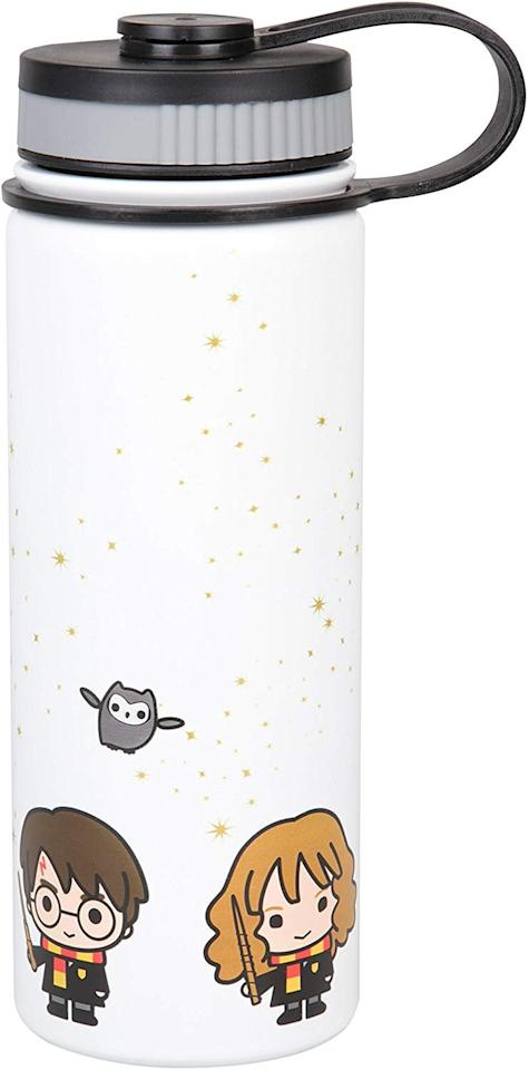 """<p>How cute is this <a href=""""https://www.popsugar.com/buy/Harry-Potter-Stainless-Steel-Water-Bottle-497498?p_name=Harry%20Potter%20Stainless%20Steel%20Water%20Bottle&retailer=amazon.com&pid=497498&price=20&evar1=geek%3Aus&evar9=36255652&evar98=https%3A%2F%2Fwww.popsugartech.com%2Fphoto-gallery%2F36255652%2Fimage%2F46710823%2FHarry-Potter-Stainless-Steel-Water-Bottle&list1=holiday%2Cgift%20guide%2Charry%20potter%2Choliday%20living%2Cgeek%20culture&prop13=mobile&pdata=1"""" rel=""""nofollow"""" data-shoppable-link=""""1"""" target=""""_blank"""" class=""""ga-track"""" data-ga-category=""""Related"""" data-ga-label=""""https://www.amazon.com/Harry-Potter-Stainless-Steel-Bottle/dp/B07BHRM2RG/ref=sr_1_13?keywords=best+harry+potter+gifts&amp;qid=1570046228&amp;s=gateway&amp;sr=8-13"""" data-ga-action=""""In-Line Links"""">Harry Potter Stainless Steel Water Bottle</a> ($20)?</p>"""