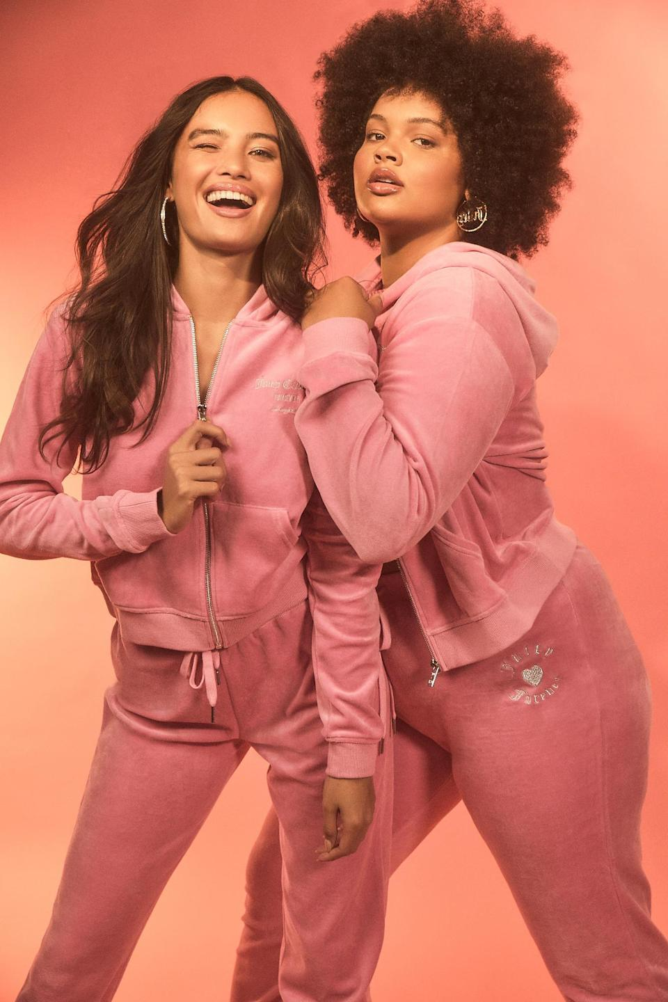 A closer look at the second collection from Juicy Couture x Forever 21. - Credit: Courtesy of Forever 21