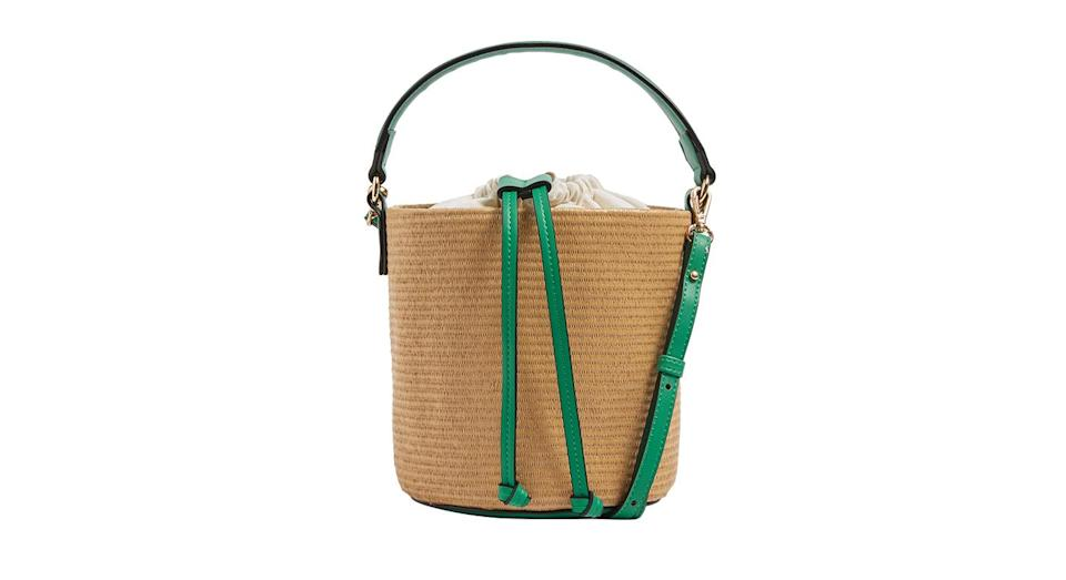 """<p>For the past handful of seasons, Marks and Spencer has shed its traditional exterior in favour of countless high street hits. And this season, we have our eyes on this bucket bag. <em><a href=""""http://www.marksandspencer.com/textured-cross-body-bag/p/p60154936?image=SD_01_T01_6741V_V4_X_EC_90&color=NATURALMIX&prevPage=plp&pdpredirect&source=affwindow&extid=af_a_Content_250777_http://www.whowhatwear.co.uk/&comgp=250777&cvosrc=affiliate.aw.250777&awc=1402_1520969825_80945b4f37efc6c48ce3f2f984ce0a54&mcptredirect"""" rel=""""nofollow noopener"""" target=""""_blank"""" data-ylk=""""slk:Marks and Spencer"""" class=""""link rapid-noclick-resp"""">Marks and Spencer</a>, £32.50</em> </p>"""