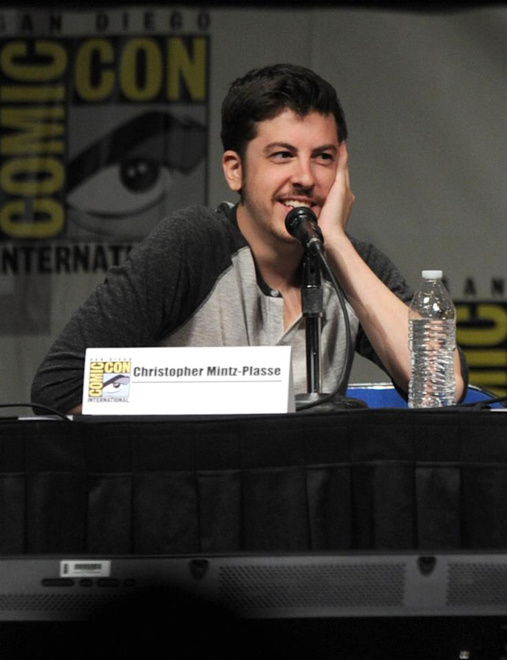 "SAN DIEGO, CA - JULY 13:  Actor Christopher Mintz-Plasse speaks at the ""Paranorman: Behind The Scenes"" panel during Comic-Con International 2012 at San Diego Convention Center on July 13, 2012 in San Diego, California.  (Photo by Kevin Winter/Getty Images)"