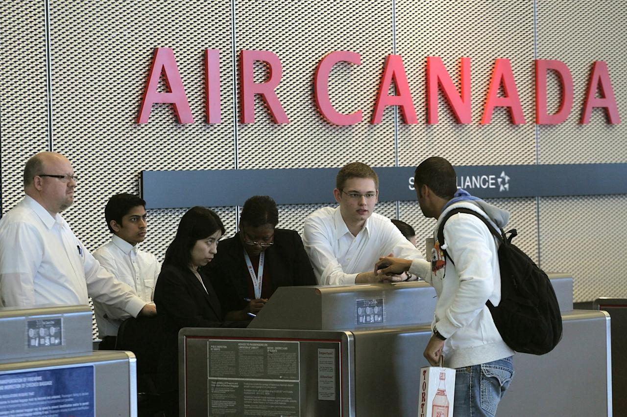 <p><strong>Traditional Carrier</strong><br /> No. 5: Air Canada<br /> Score: 709 out of 1,000<br /> (Getty) </p>