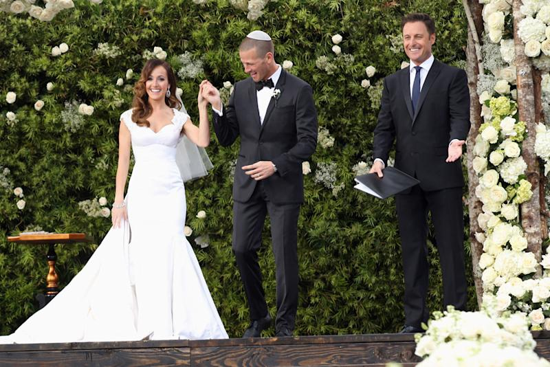 Ashley and J.P. on their 'Bachelorette' wedding: 'Romance was always there'
