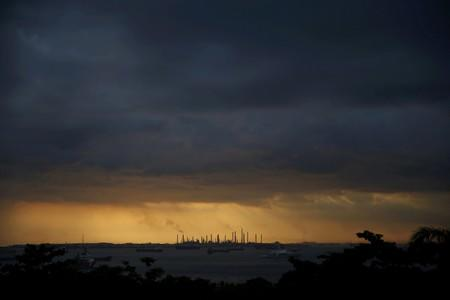 Shell reports 'operational upset' at unit at Bukom site in Singapore