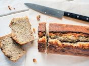 """<p>If you still find that your bananas are too ripe to eat, use them to <a href=""""https://www.thedailymeal.com/cook/banana-bread-homemade-recipes?referrer=yahoo&category=beauty_food&include_utm=1&utm_medium=referral&utm_source=yahoo&utm_campaign=feed"""" rel=""""nofollow noopener"""" target=""""_blank"""" data-ylk=""""slk:make a simple banana bread"""" class=""""link rapid-noclick-resp"""">make a simple banana bread</a>. Just mash three ripe bananas with flour, brown sugar, water, eggs, baking powder and some cinnamon and vanilla for one of <a href=""""https://www.thedailymeal.com/cook/pantry-staple-recipes-easy?referrer=yahoo&category=beauty_food&include_utm=1&utm_medium=referral&utm_source=yahoo&utm_campaign=feed"""" rel=""""nofollow noopener"""" target=""""_blank"""" data-ylk=""""slk:the best dishes you can make using pantry staples"""" class=""""link rapid-noclick-resp"""">the best dishes you can make using pantry staples</a>.</p>"""