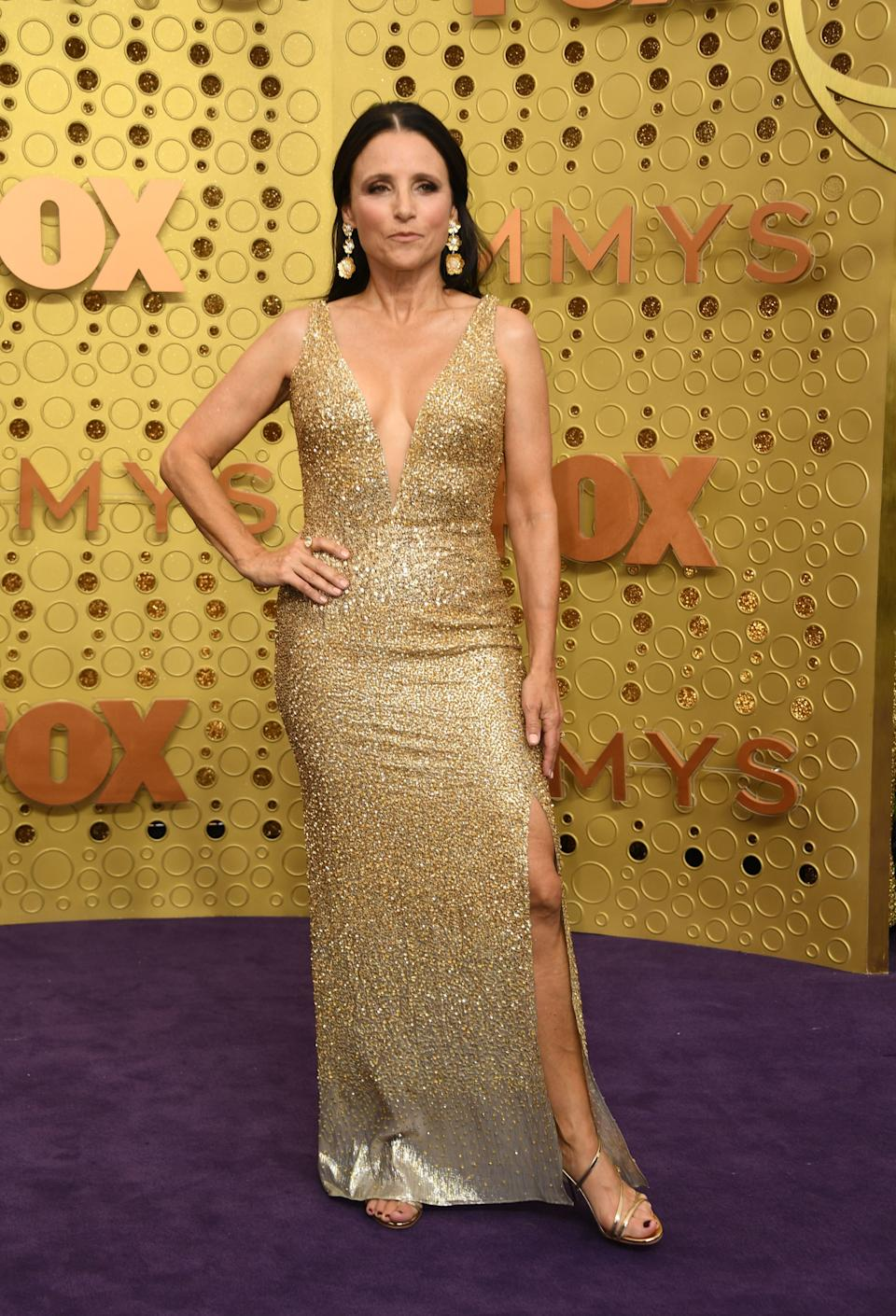 """<h1 class=""""title"""">Julia Louis-Dreyfus in Irene Neuwirth jewelry</h1><cite class=""""credit"""">Photo: Getty Images</cite>"""