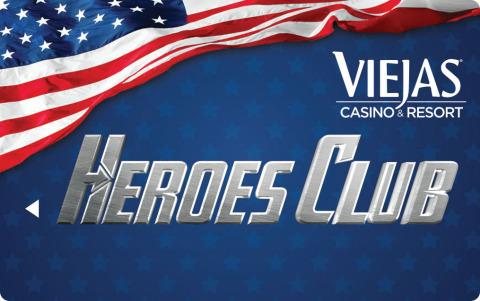 Viejas Casino & Resort Launches the Heroes Club Appreciation Program for Military, Law Enforcement, First Responders, and Border Patrol Agents