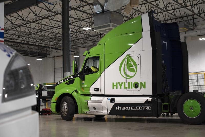 Hyliion plans to retrofit existing trucks with its drivetrains to convert them into more efficient vehicles.