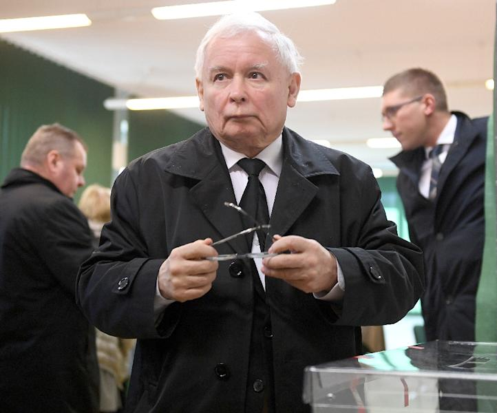 Jaroslaw Kaczynski leader of ruling PiS party, called the party's showing in regional elections a