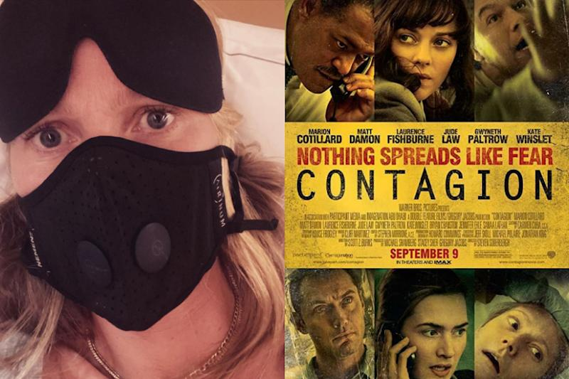 Coronavirus Outbreak: Gwyneth Paltrow Sleeps with Mask on, Cautions Fans