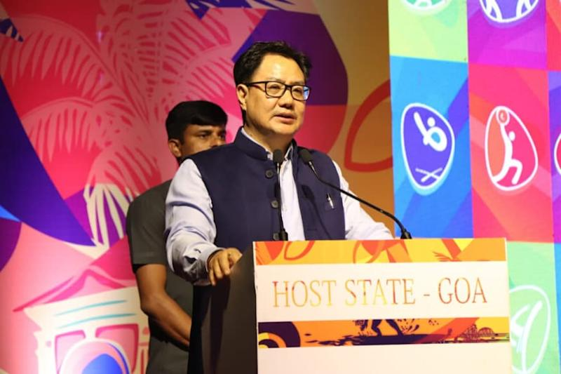 Kiren Rijiju Says Sporting Events Can Begin in Limited Manner and for Non-contact Sports