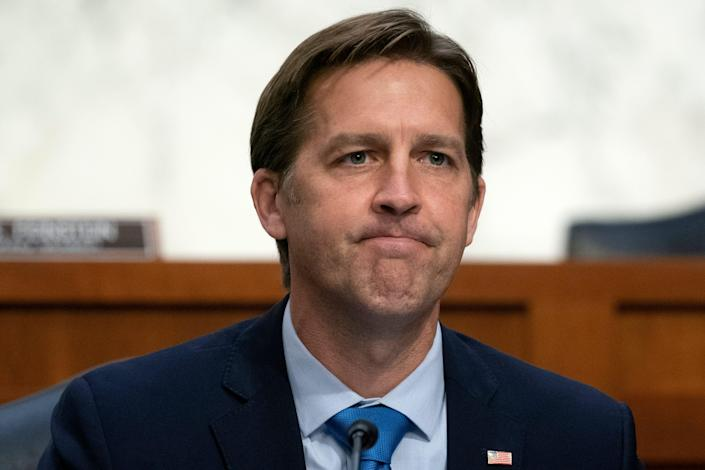 Ben Sasse during Wednesday's hearing.
