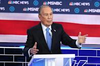 Democratic presidential candidate Michael Bloomberg came under fire from his rivals during his first debate since joining the race
