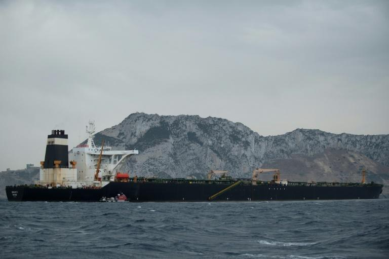 The 330 metre (1,000 feet) Grace 1 tanker, capable of carrying two million barrels of oil, was halted on Thursday by police and customs in Gibraltar