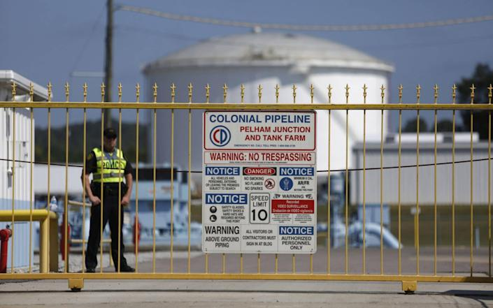 Colonial Pipeline was shut for days in a hack that cost the US millions of dollars - BLOOMBERG