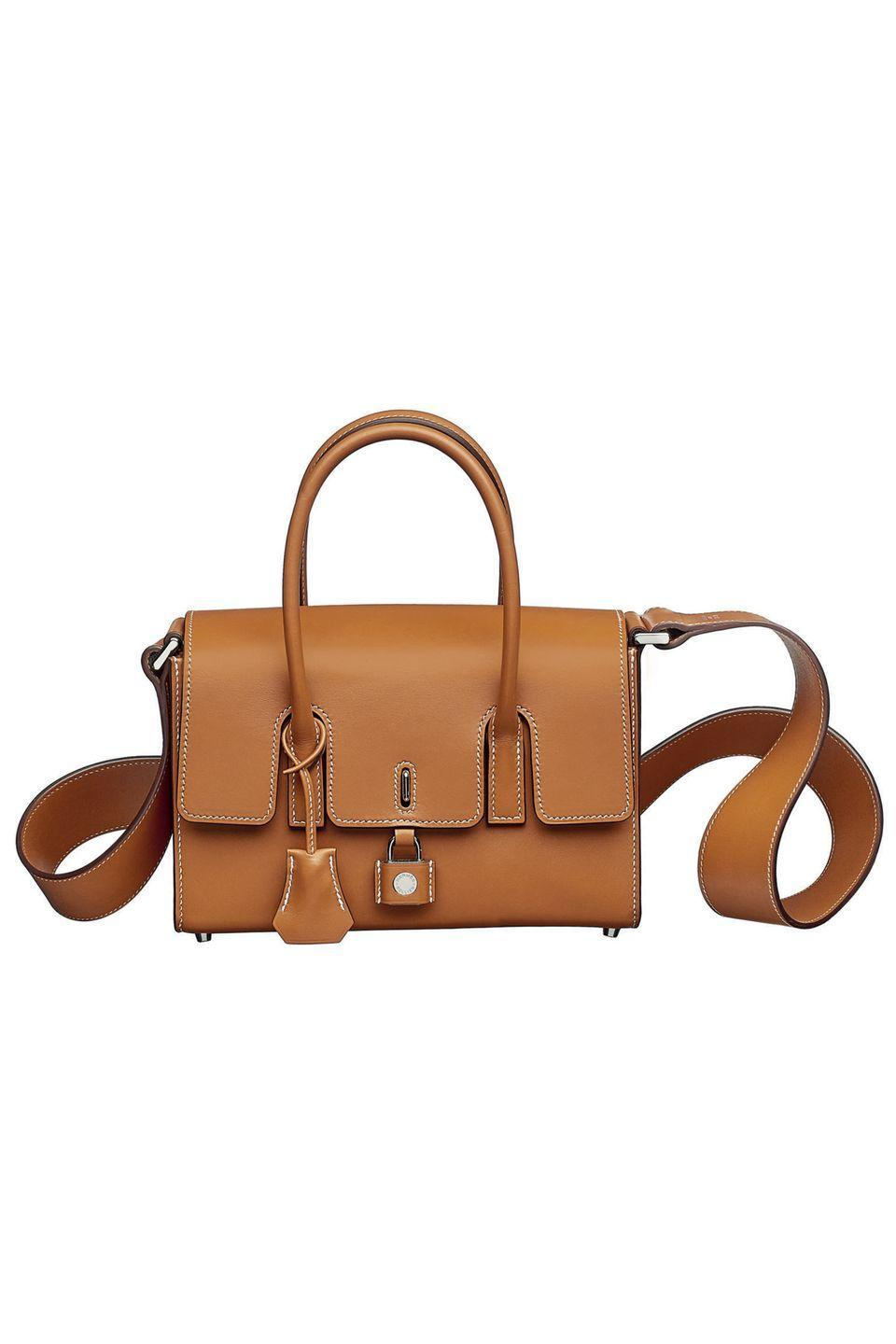"<p>You can't go wrong with choosing a classic like a Birkin or Kelly, but the New Drag is a solid Hermès alternative with just as much staying power. Reminiscent of the house's original Drag bag designed by Robert Dumas in the 1960s, this version has been updated in supple camel-colored leather and a lock detail on the front. </p><p><em>Hermès, $9,550; hermes.com</em></p><p><a class=""link rapid-noclick-resp"" href=""https://www.hermes.com/us/en/"" rel=""nofollow noopener"" target=""_blank"" data-ylk=""slk:SHOP NOW"">SHOP NOW</a></p>"