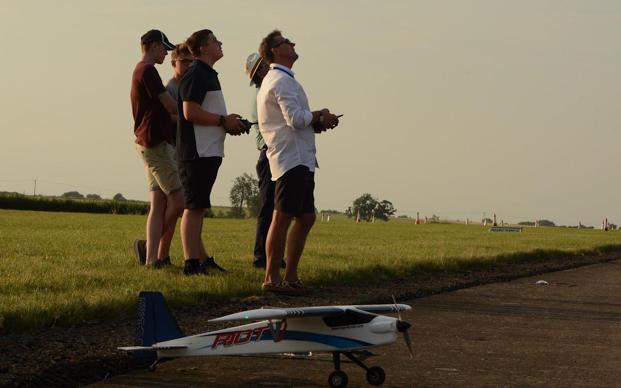 Members British model Flying Association enjoying their sport this summer - BMFA