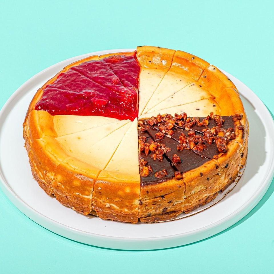 <p>This <span>Eli's Cheesecake Company Original Favorites Cheesecake Sampler</span> ($59) will win you extra points among family and friends.</p>