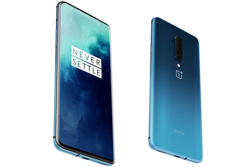 The new OnePlus 7T Pro has no notch thanks to a pop-up selfie camera (OnePlus)