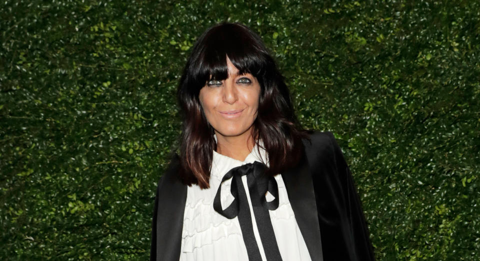Claudia Winkleman turned to the high street for her latest Strictly look. (Getty Images)