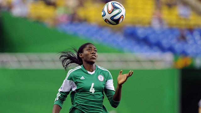 The three-time African Women's Footballer of the Year closed the Nigerian stock market on Friday