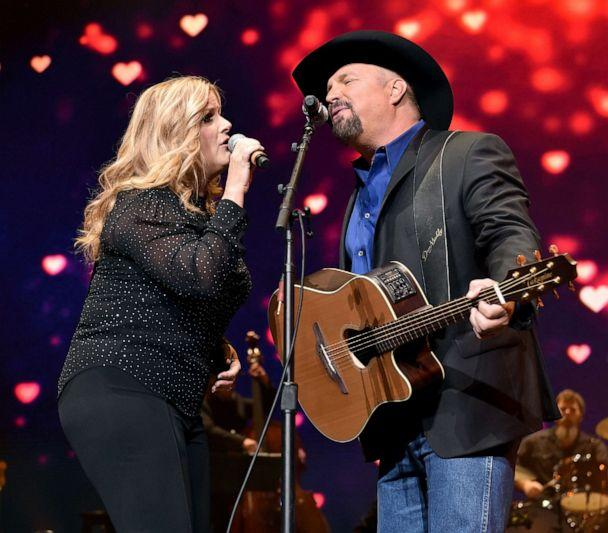 PHOTO: Trisha Yearwood and Garth Brooks perform onstage for Loretta Lynn: An All-Star Birthday Celebration Concert at Bridgestone Arena on April 1, 2019 in Nashville, Tenn. (Getty Images for Essential Broadcast Media, FILE)