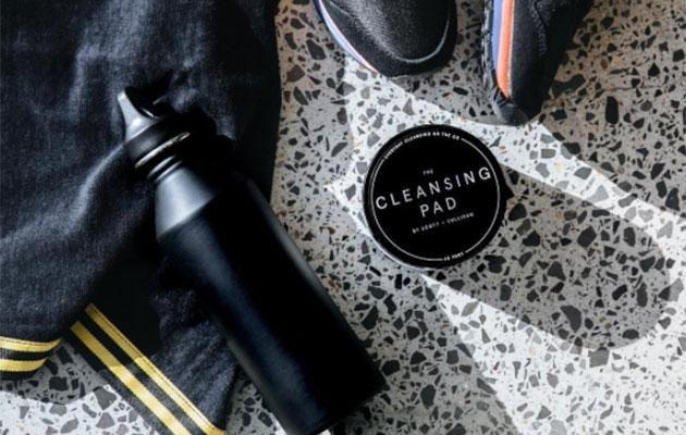 The Cleansing Pad is your new gym bag secret! Source: Instagram/@theclinicau