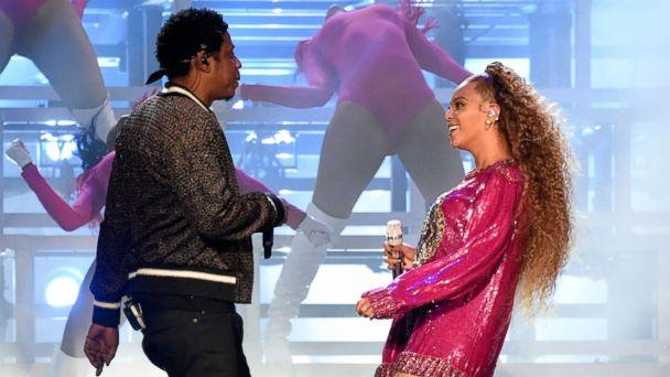 PHOTO: Jay-Z and Beyonce Knowles perform onstage during the 2018 Coachella Valley Music And Arts Festival at the Empire Polo Field, April 21, 2018 in Indio, Calif. (Kevin Mazur/Getty Images for Coachella)